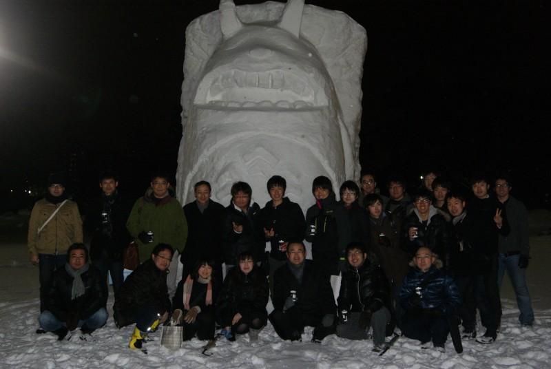 2013年雪像