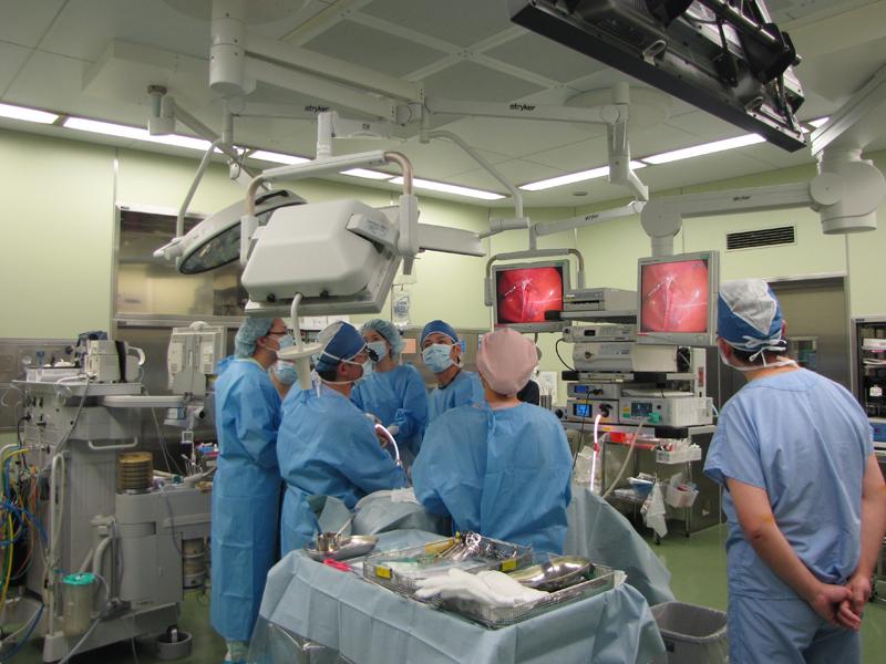 小児外科腹腔鏡手術